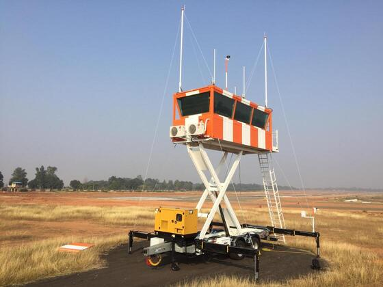 mobile ATC tower